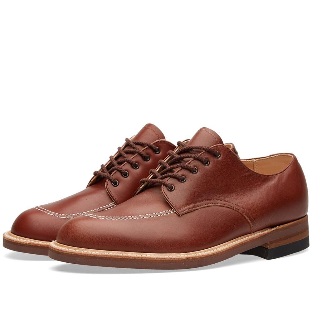 オールデン Alden Shoe Company メンズ シューズ・靴【Alden Indy Shoe】Brown Calf Leather