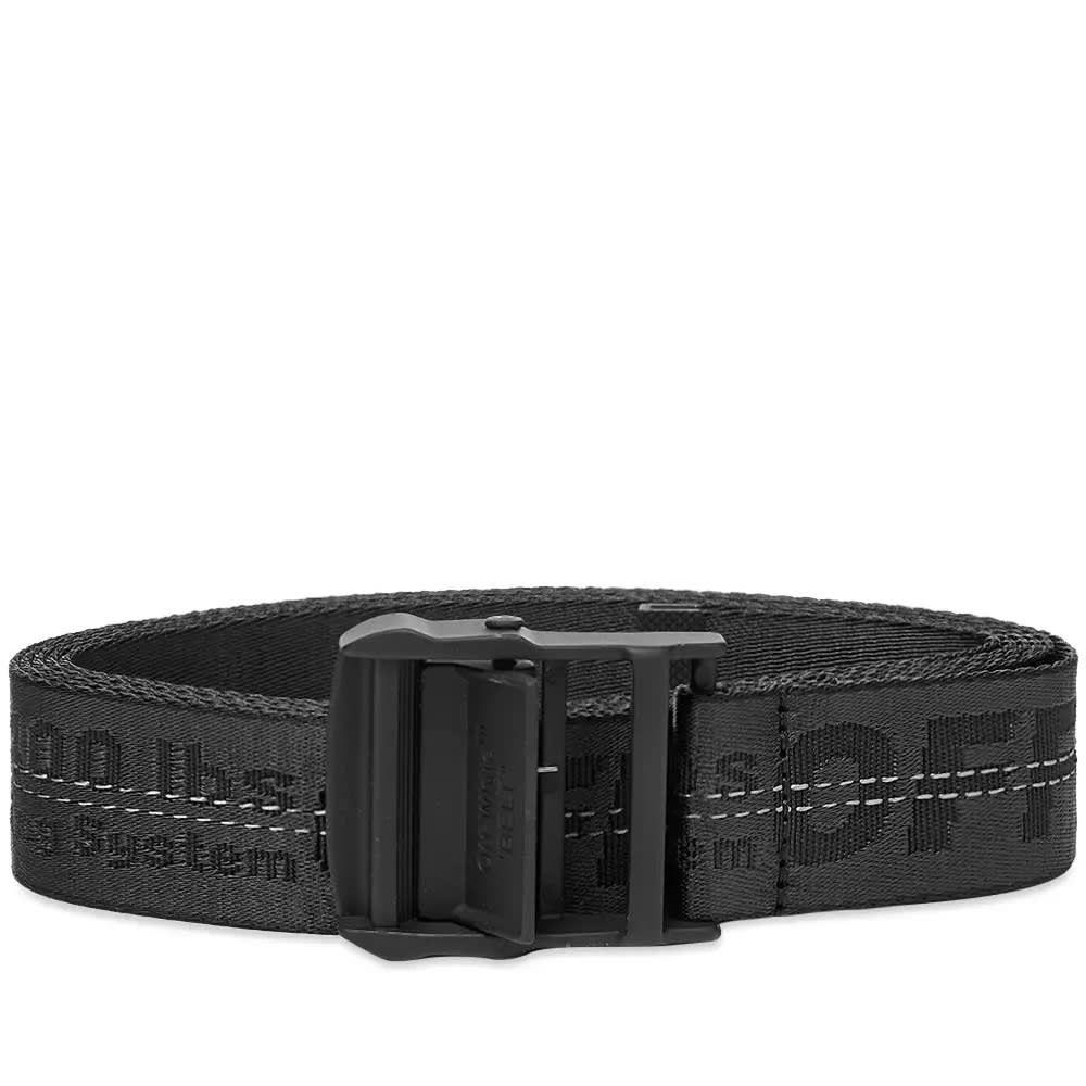 オフ-ホワイト Off-White メンズ ベルト 【industrial belt】Black