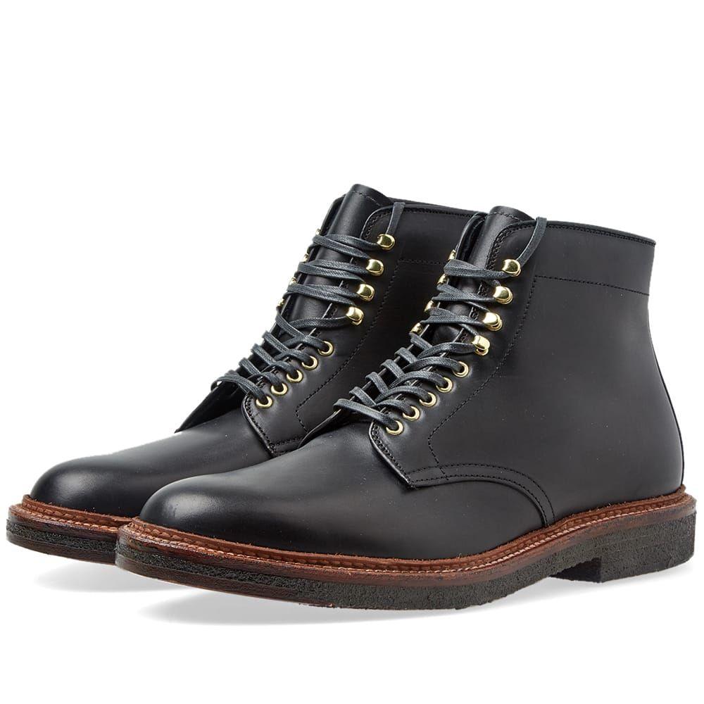 オールデン Alden Shoe Company メンズ シューズ・靴 ブーツ【Alden Round Toe Boot】Black