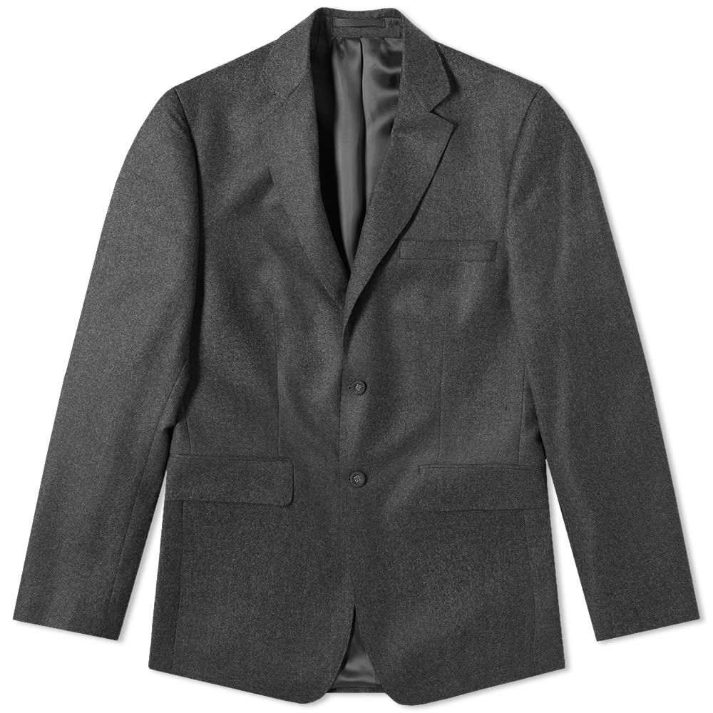 オフィシン ジェネラーレ Officine Generale メンズ アウター スーツ・ジャケット【Flannel 375 Flap Pocket Jacket】Charcoal