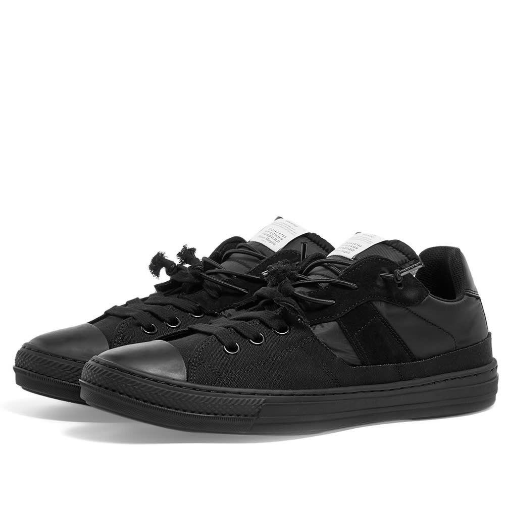メゾン マルジェラ Maison Margiela メンズ スニーカー ローカット シューズ・靴【22 2-in-1 low sneaker】Black Mix