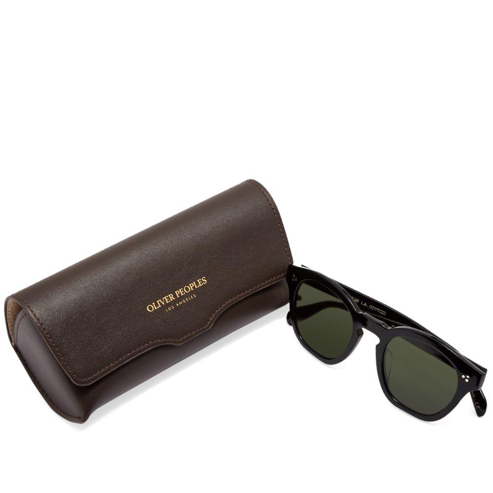 オリバーピープルズ Oliver Peoples メンズ メガネ・サングラス 【boudreau l.a. sunglasses】Black/Vibrant Green