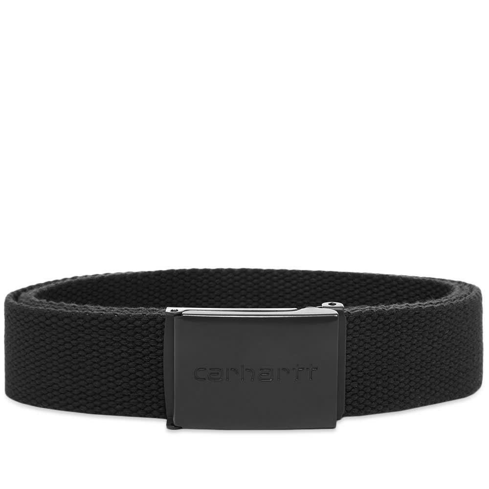 カーハート Carhartt WIP メンズ ベルト 【carhartt tonal clip belt】Black