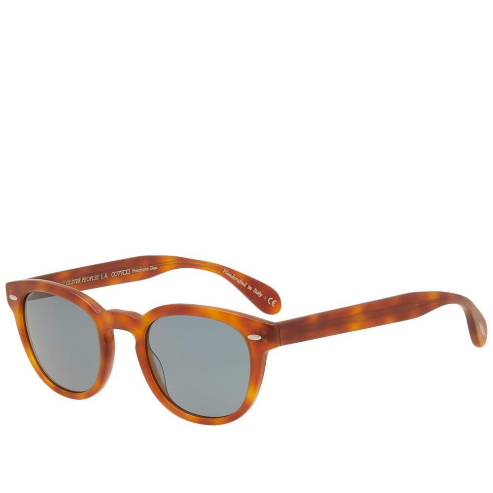 オリバーピープルズ Oliver Peoples メンズ メガネ・サングラス 【sheldrake sunglasses】Semi-Matte LBR/Indigo