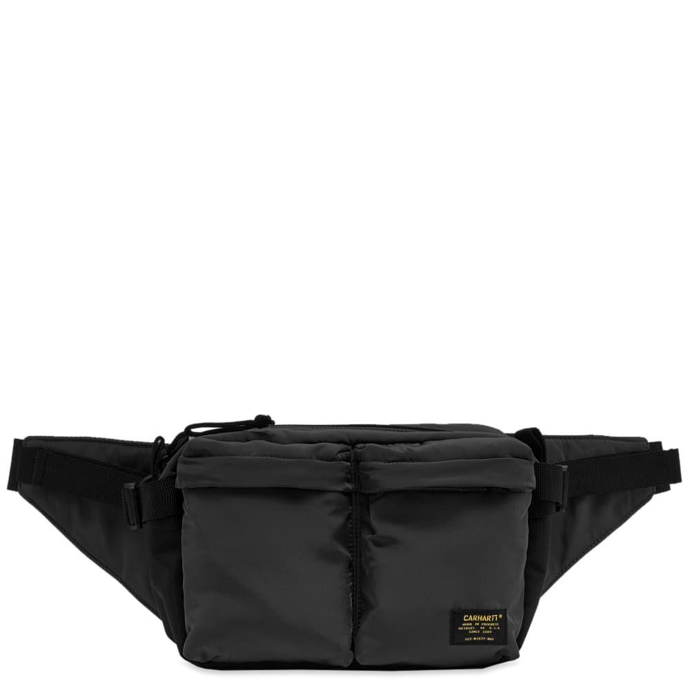 カーハート Carhartt WIP メンズ ボディバッグ・ウエストポーチ バッグ【carhartt military hip bag】Black