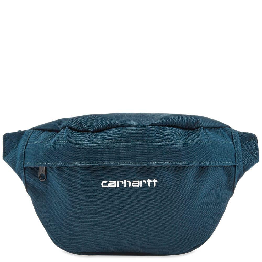 カーハート Carhartt WIP メンズ ボディバッグ・ウエストポーチ バッグ【carhartt payton hip bag】Duck Blue/White