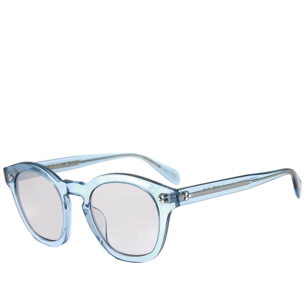 オリバーピープルズ Oliver Peoples メンズ メガネ・サングラス 【boudreau l.a. sunglasses】Light Denim/Smoke Grey