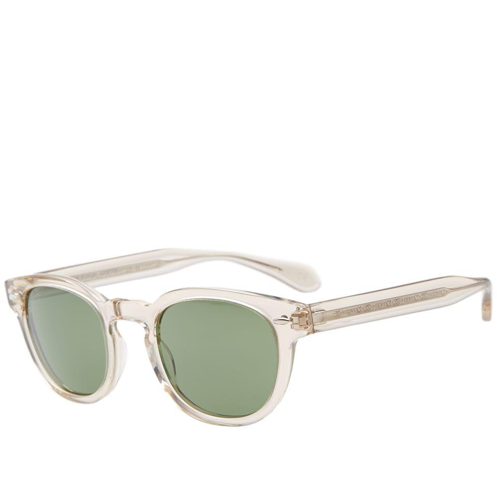 オリバーピープルズ Oliver Peoples メンズ メガネ・サングラス 【sheldrake sunglasses】Buff/Green C Vintage