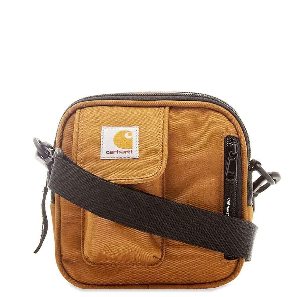 カーハート Carhartt WIP メンズ ショルダーバッグ バッグ【carhartt essentials bag】Hamilton Brown