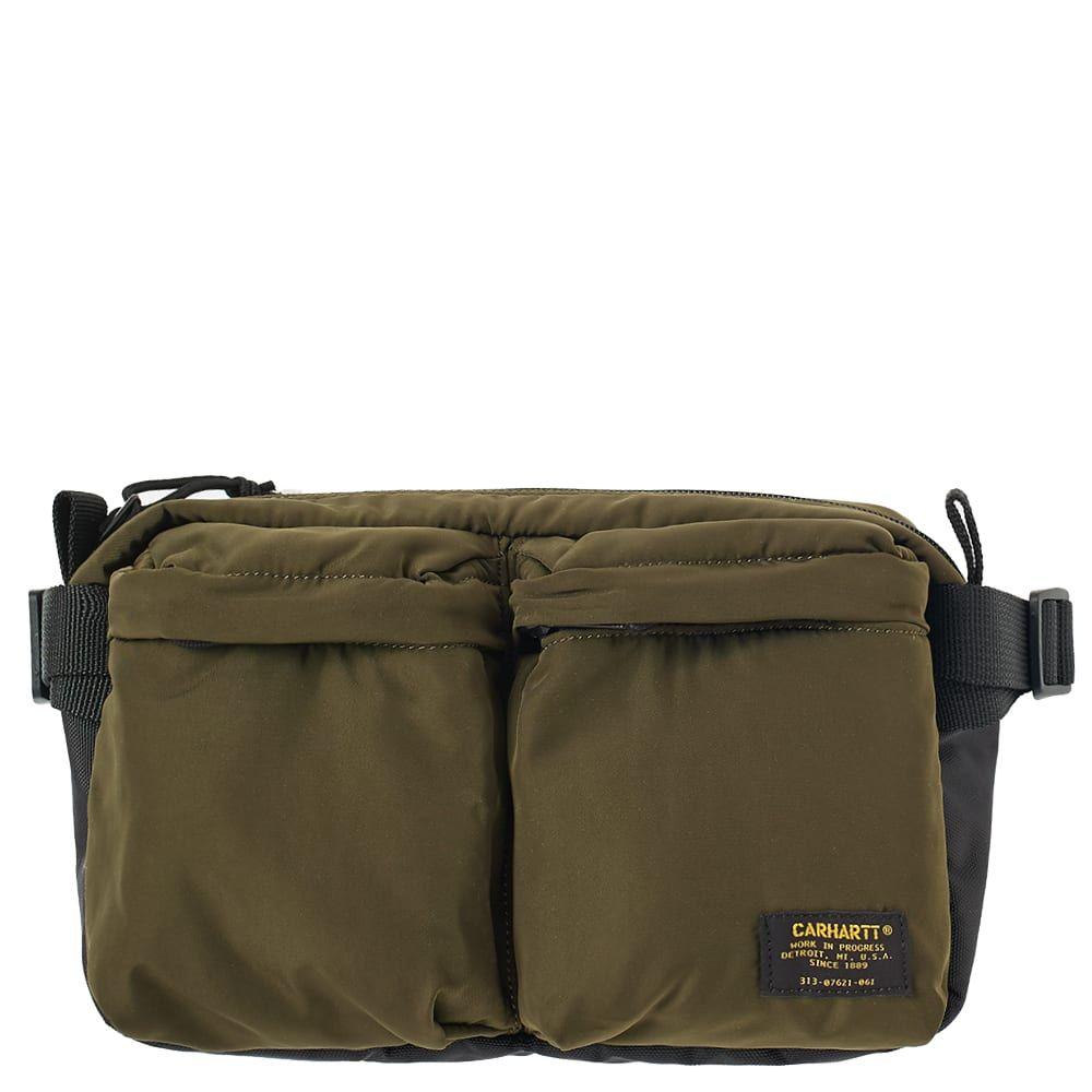 カーハート Carhartt WIP メンズ ボディバッグ・ウエストポーチ バッグ【carhartt military hip bag】Cypress/Black