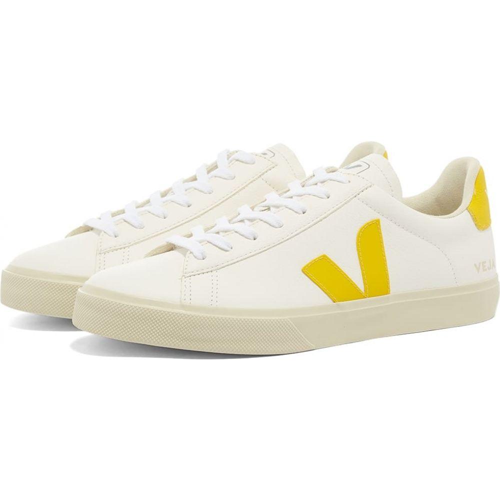 ヴェジャ Veja メンズ スニーカー シューズ・靴【Campo Sneaker】White/Yellow