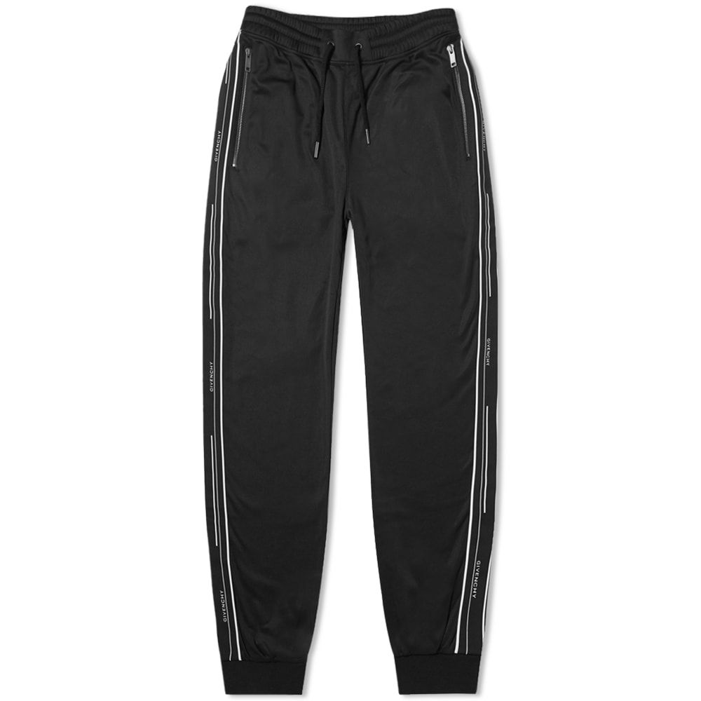 ジバンシー Givenchy メンズ スウェット・ジャージ ボトムス・パンツ【Taped Logo Track Pant】Black
