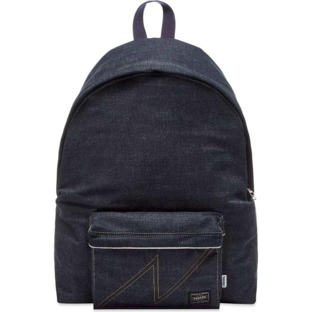 ネイバーフッド Neighborhood メンズ バックパック・リュック デイパック バッグ【Woven Daypack Backpack】Indigo