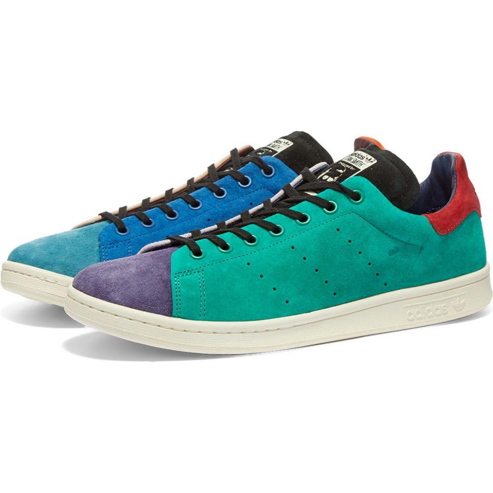 アディダス Adidas メンズ スニーカー スタンスミス シューズ・靴【Stan Smith Recon】Vapour Pink/Steel/Lush Blue