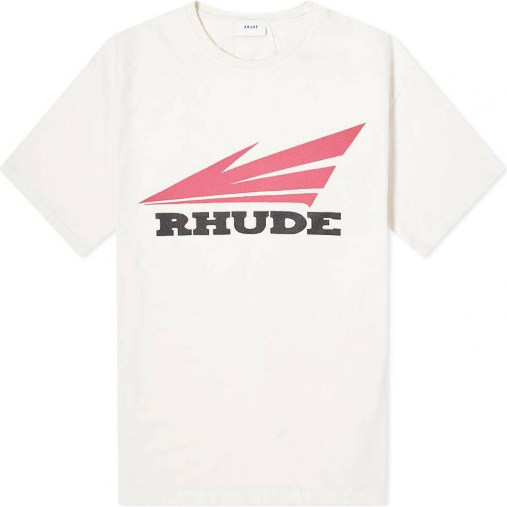 ルード Rhude メンズ Tシャツ トップス【Rhonda 2 Tee】White
