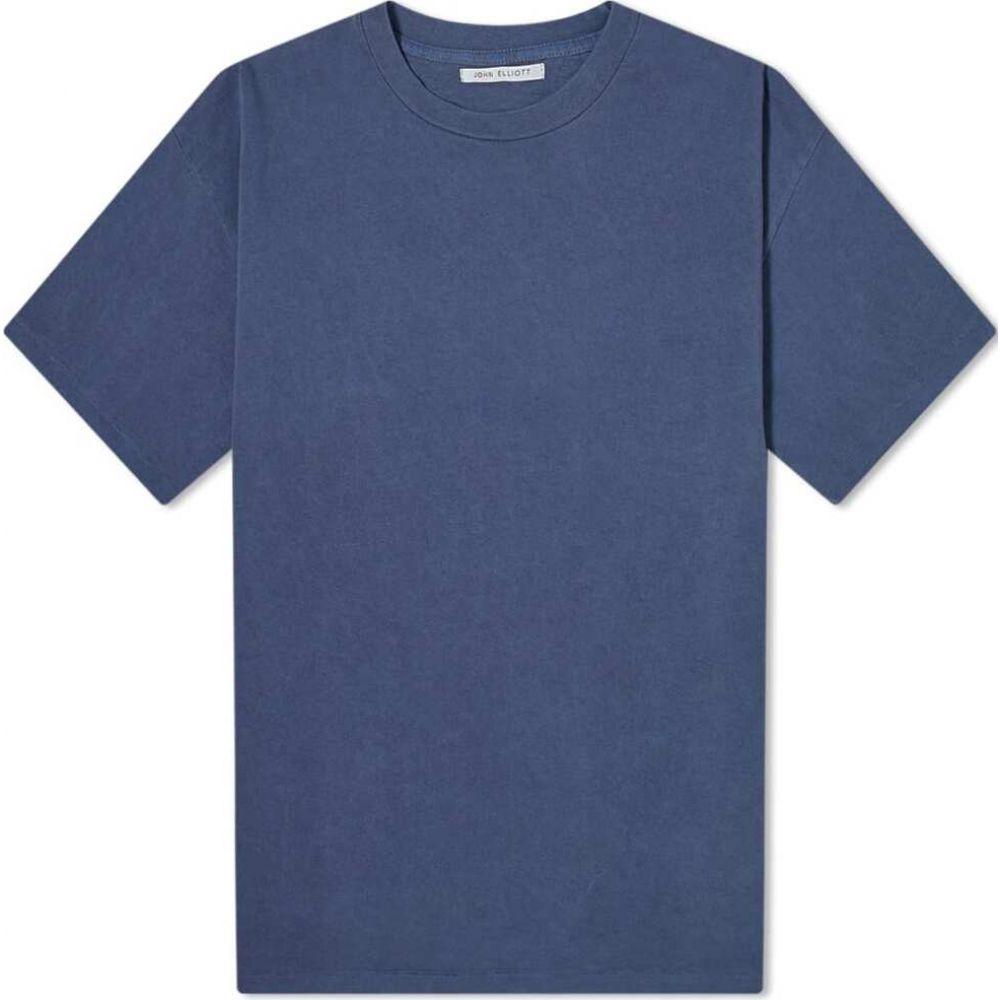 ジョン エリオット John Elliott メンズ Tシャツ トップス【University Tee】Lapis