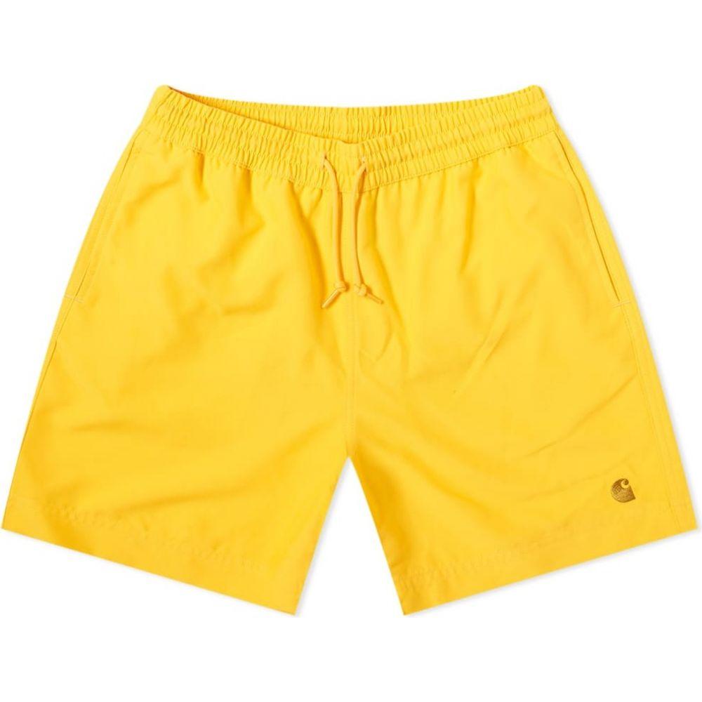 カーハート Carhartt WIP メンズ 海パン 水着・ビーチウェア【Chase Swim Trunk】Sunflower/Gold