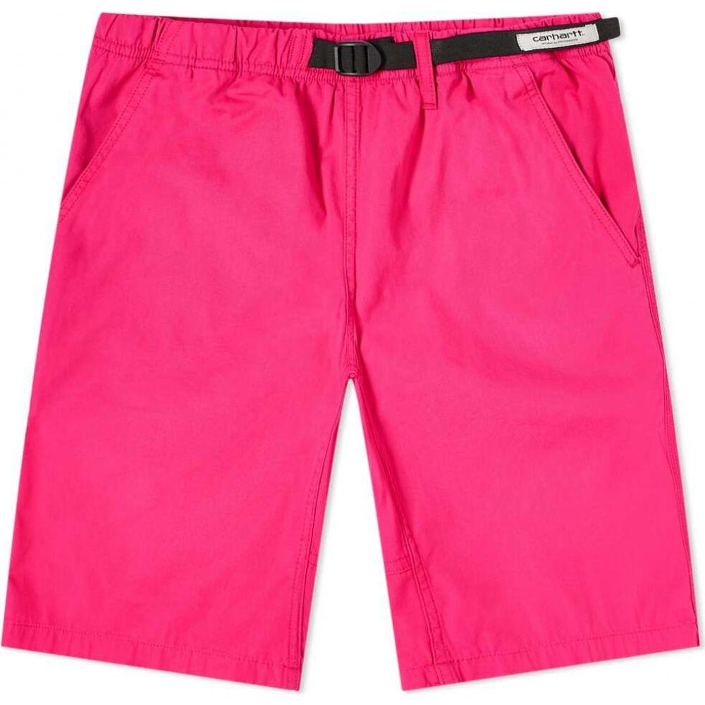 カーハート Carhartt WIP メンズ ショートパンツ ボトムス・パンツ【Clover Short】Ruby Pink