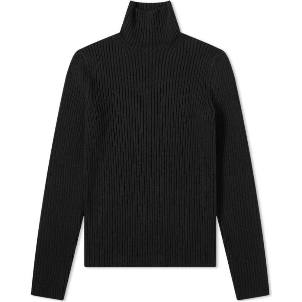 バレンシアガ Balenciaga メンズ ニット・セーター タートルネック トップス【Turtle Neck Knit】Black