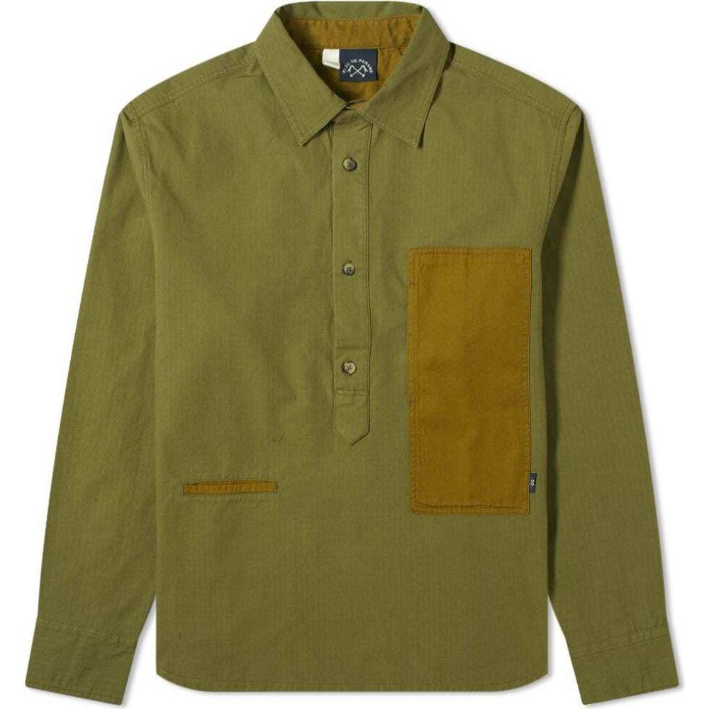 ブルー ドゥ パナム Bleu de Paname メンズ シャツ トップス【Frigate Popover Shirt】Khaki