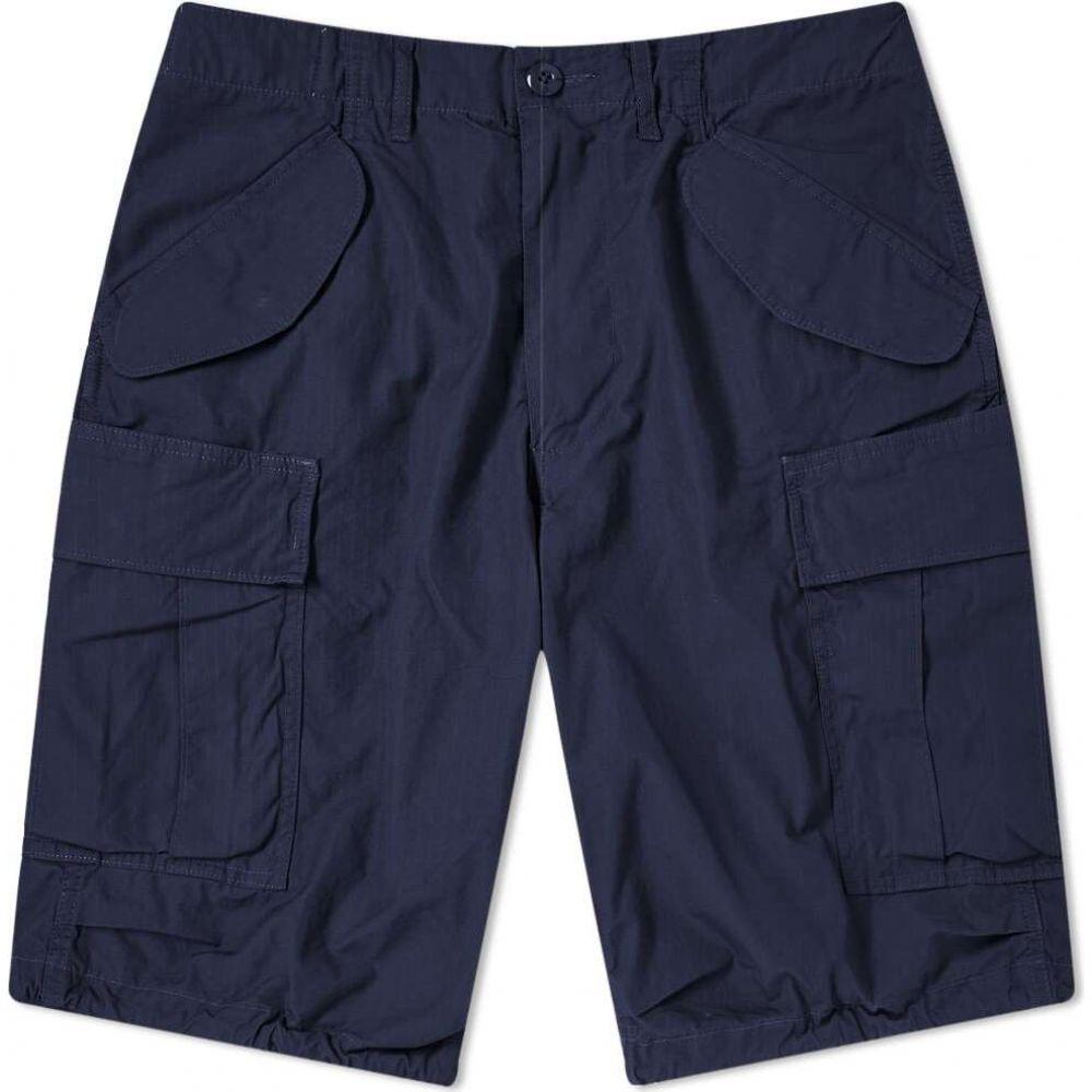 ビームス プラス Beams Plus メンズ ショートパンツ カーゴ ボトムス・パンツ【Military Cargo Shorts】Navy