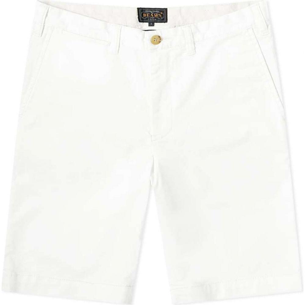 ビームス プラス Beams Plus メンズ ショートパンツ ボトムス・パンツ【Ivy Chino Shorts】White