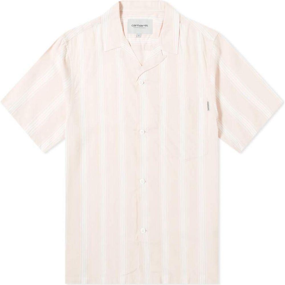 カーハート Carhartt WIP メンズ 半袖シャツ トップス【Chester Stripe Vacation Shirt】Chester Stripe/Powdery