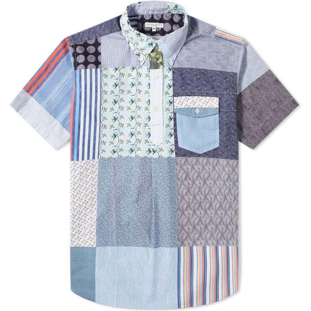 エンジニアードガーメンツ Engineered Garments メンズ シャツ トップス【Patchwork Popover Shirt】Multi