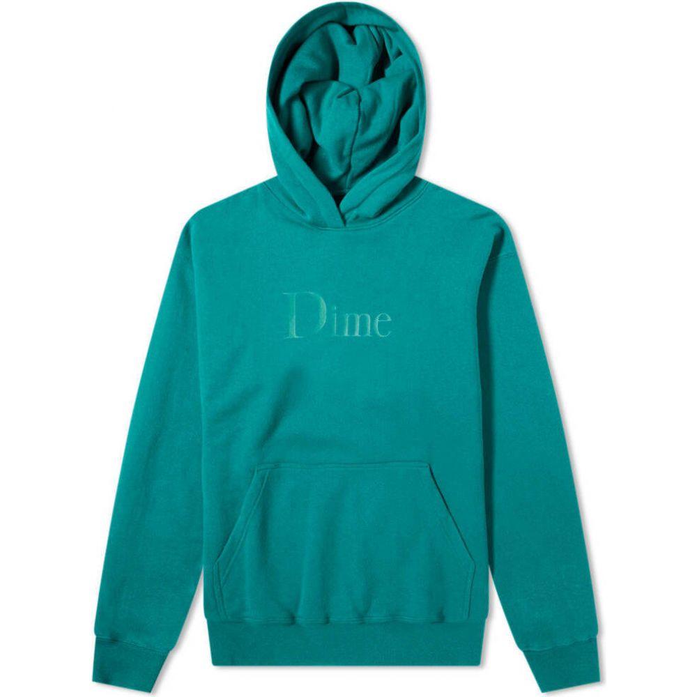 ダイム Dime メンズ パーカー トップス【Classic Logo Hoody】Emerald