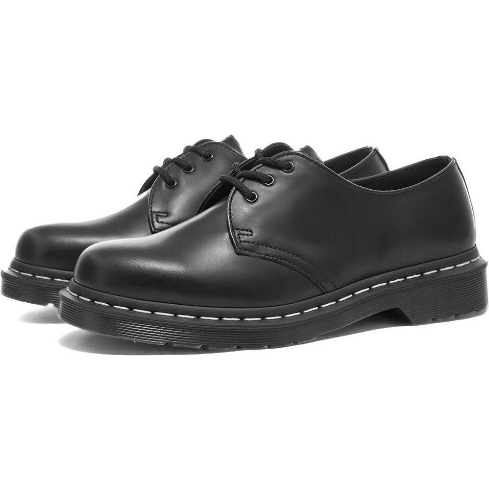 ドクターマーチン Dr Martens メンズ シューズ・靴 【Dr. Martens 1461 WS 3-Eye Shoe】Black Smooth