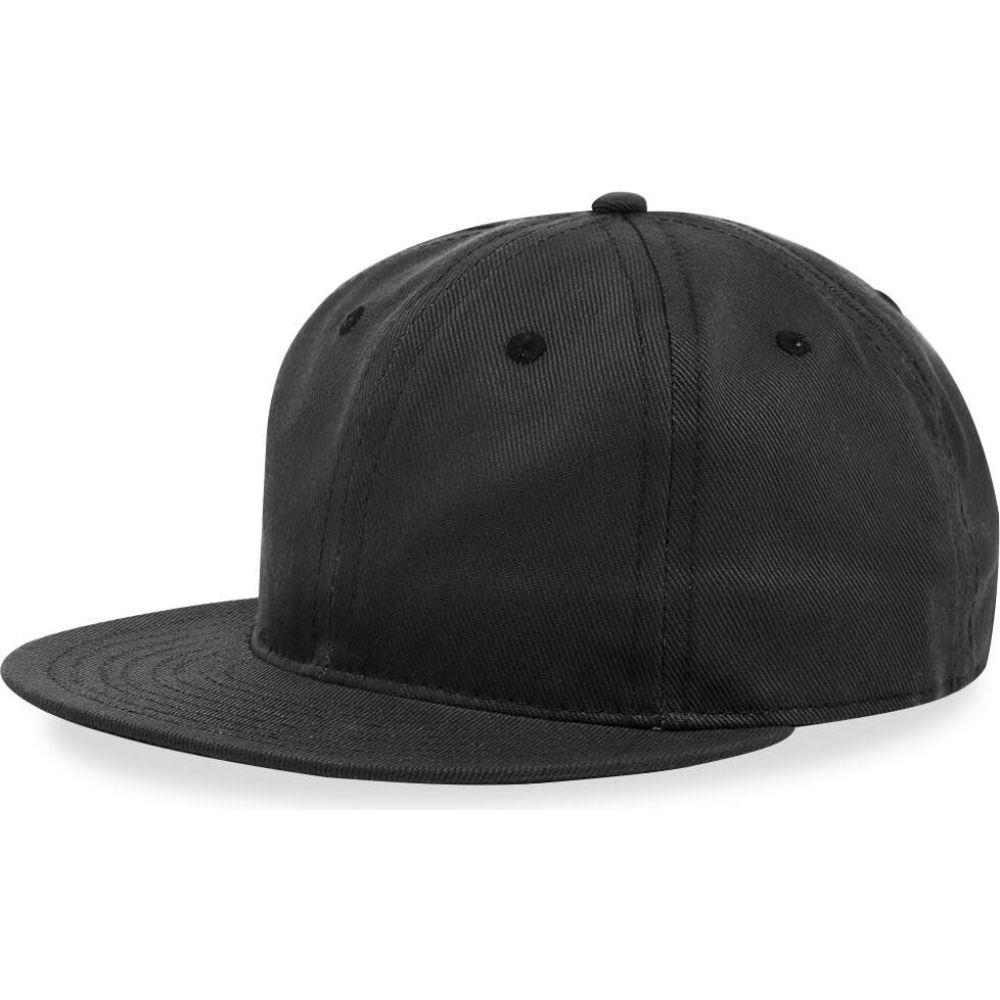 エベッツフィールドフランネルズ Ebbets Field Flannels メンズ キャップ 帽子【Unlettered Cotton Cap】Black