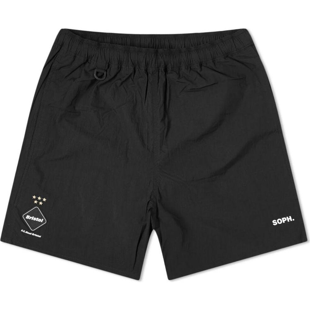 エフシーレアルブリストル F.C. Real Bristol メンズ ショートパンツ ボトムス・パンツ【Mesh Back Pocket Short】Black