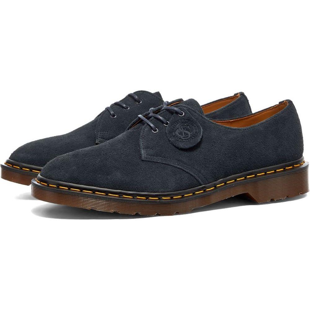 ドクターマーチン Dr Martens メンズ シューズ・靴 【Dr. Martens 1461 3-Eye Shoe - Made in England】Indigo Desert Oasis Suede