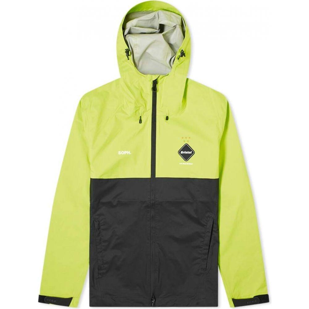 エフシーレアルブリストル F.C. Real Bristol メンズ レインコート アウター【Rain Jacket】Yellow