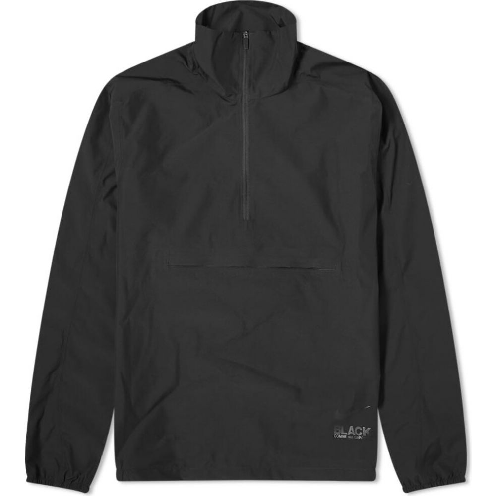 コムデギャルソン Comme des Garcons Black メンズ ジャケット アウター【x Nike 3 Layer Half Zip Popover Jacket】Black
