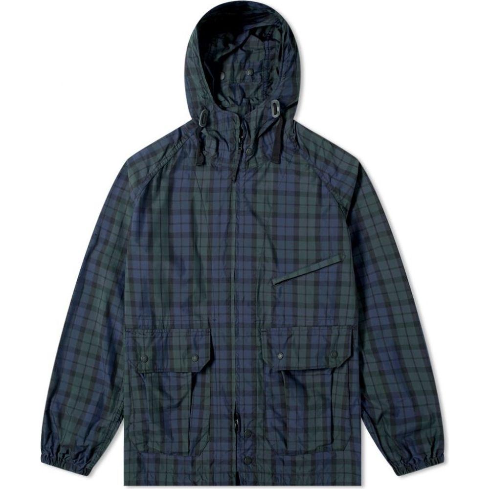 エンジニアードガーメンツ Engineered Garments メンズ コート アウター【Blackwatch Tartan Atlantic Parka】Black Watch