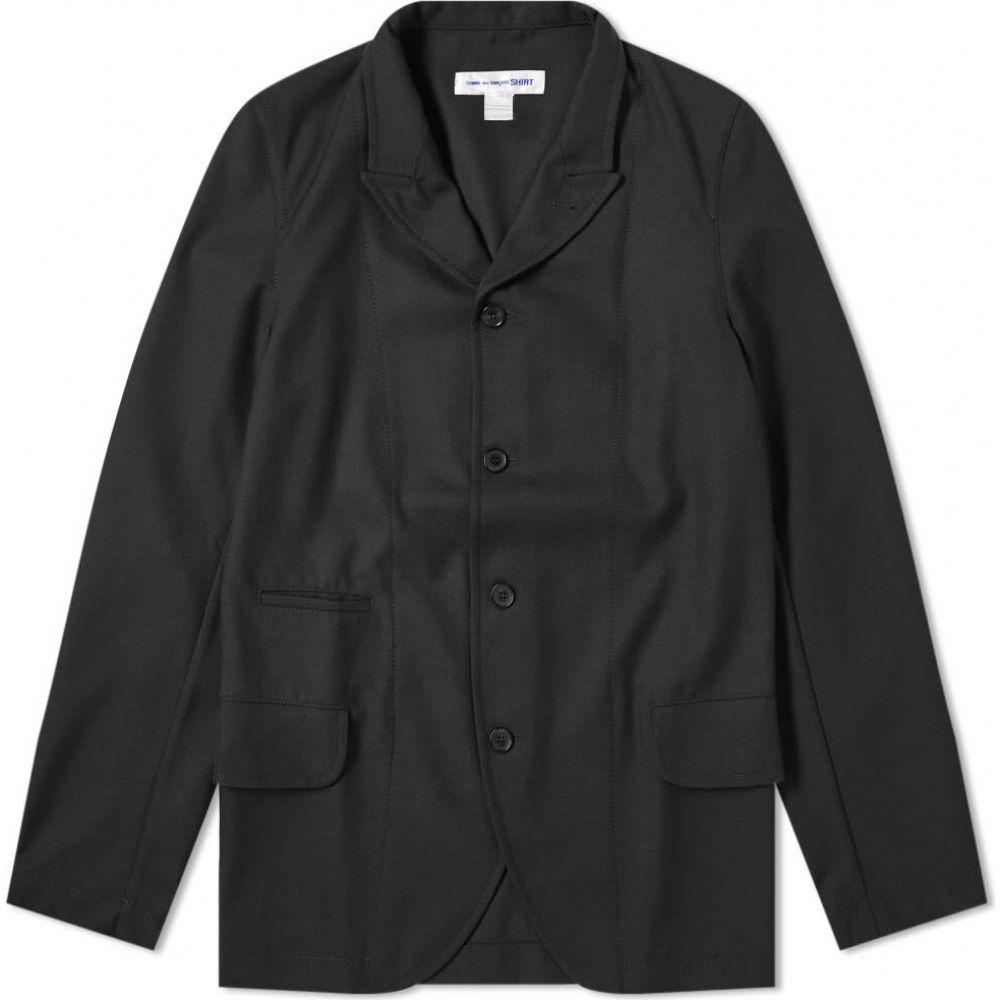 コム デ ギャルソン Comme des Garcons SHIRT メンズ スーツ・ジャケット アウター【Peaked Lapel Blazer】Black