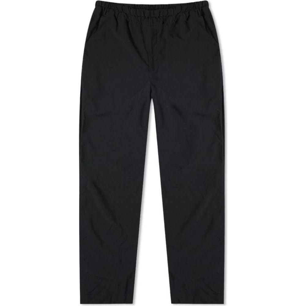 コムデギャルソン Comme des Garcons Black メンズ スウェット・ジャージ ボトムス・パンツ【Slim Drawstring Pant】Black