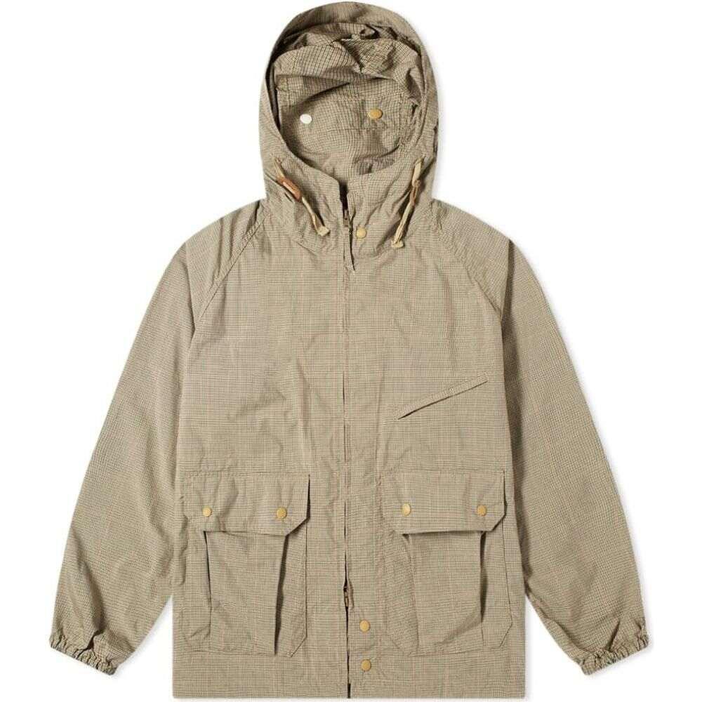 エンジニアードガーメンツ Engineered Garments メンズ コート アウター【Tattersall Atlantic Parka】Khaki