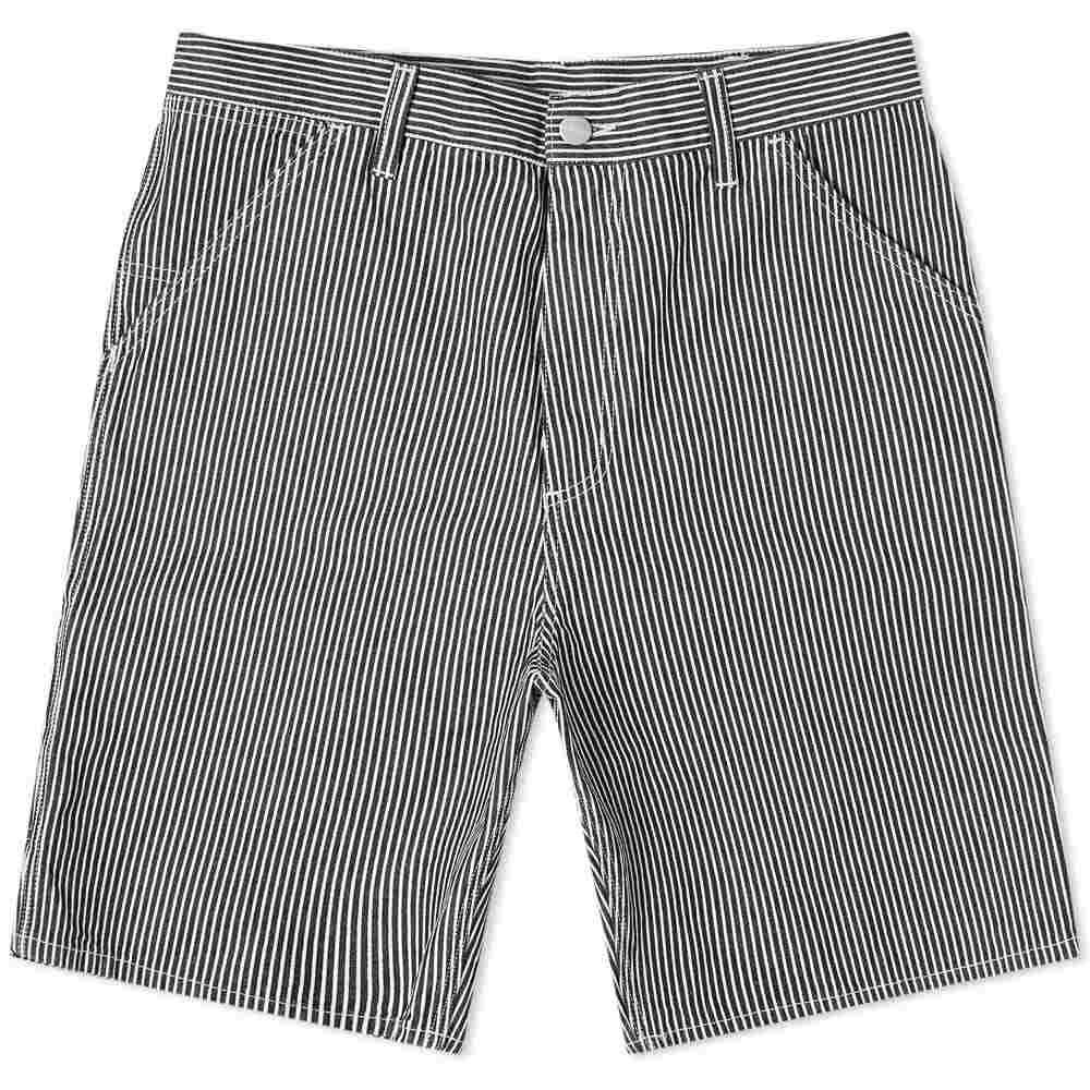 カーハート Carhartt WIP メンズ ショートパンツ ボトムス・パンツ【Striped Single Knee Short】Blue/White