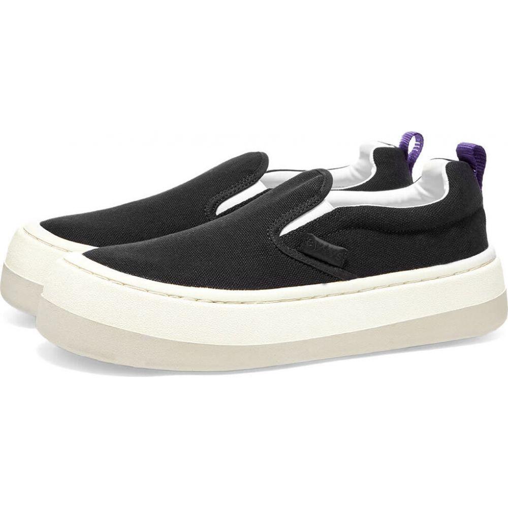 エイティーズ Eytys メンズ スリッポン・フラット スニーカー シューズ・靴【Venice Slip On Sneaker】Black