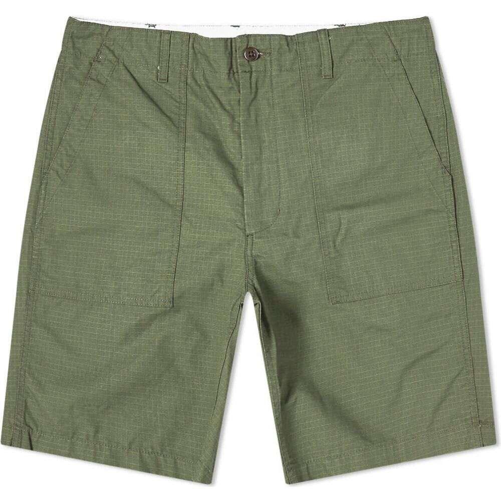 エンジニアードガーメンツ Engineered Garments メンズ ショートパンツ ボトムス・パンツ【Ripstop Fatigue Short】Olive