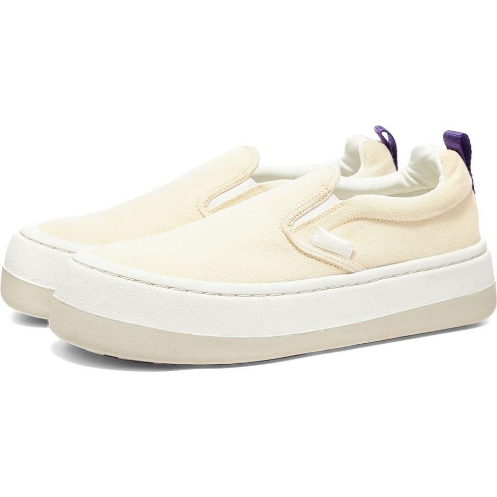 エイティーズ Eytys メンズ スリッポン・フラット スニーカー シューズ・靴【Venice Slip On Sneaker】Ecru