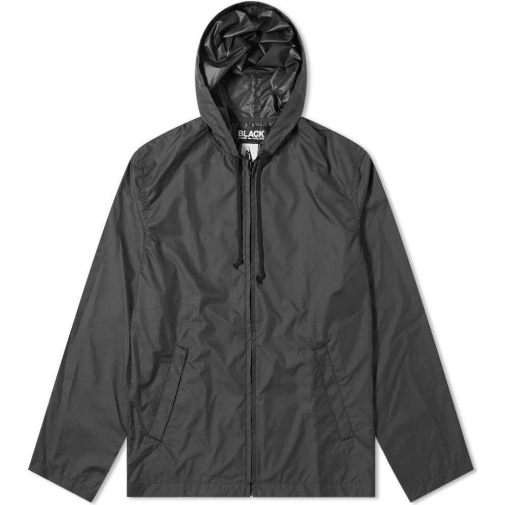 コムデギャルソン Comme des Garcons Black メンズ ジャケット フード アウター【x Nike Polyester Taffeta Hooded Jacket】Black