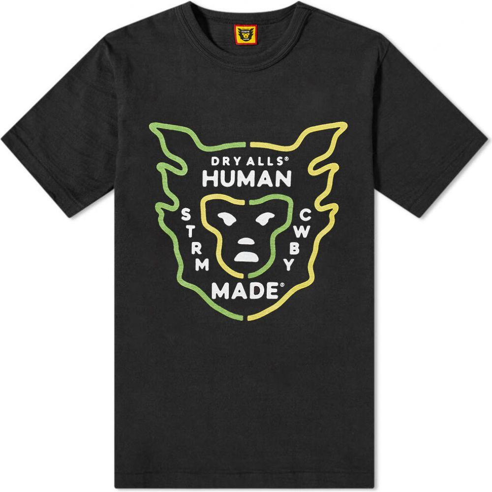 ヒューマンメイド Human Made メンズ Tシャツ ロゴTシャツ トップス【Logo Tee】Black