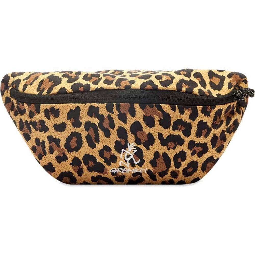 グラミチ Gramicci メンズ ショルダーバッグ バッグ【Body Bag】Leopard