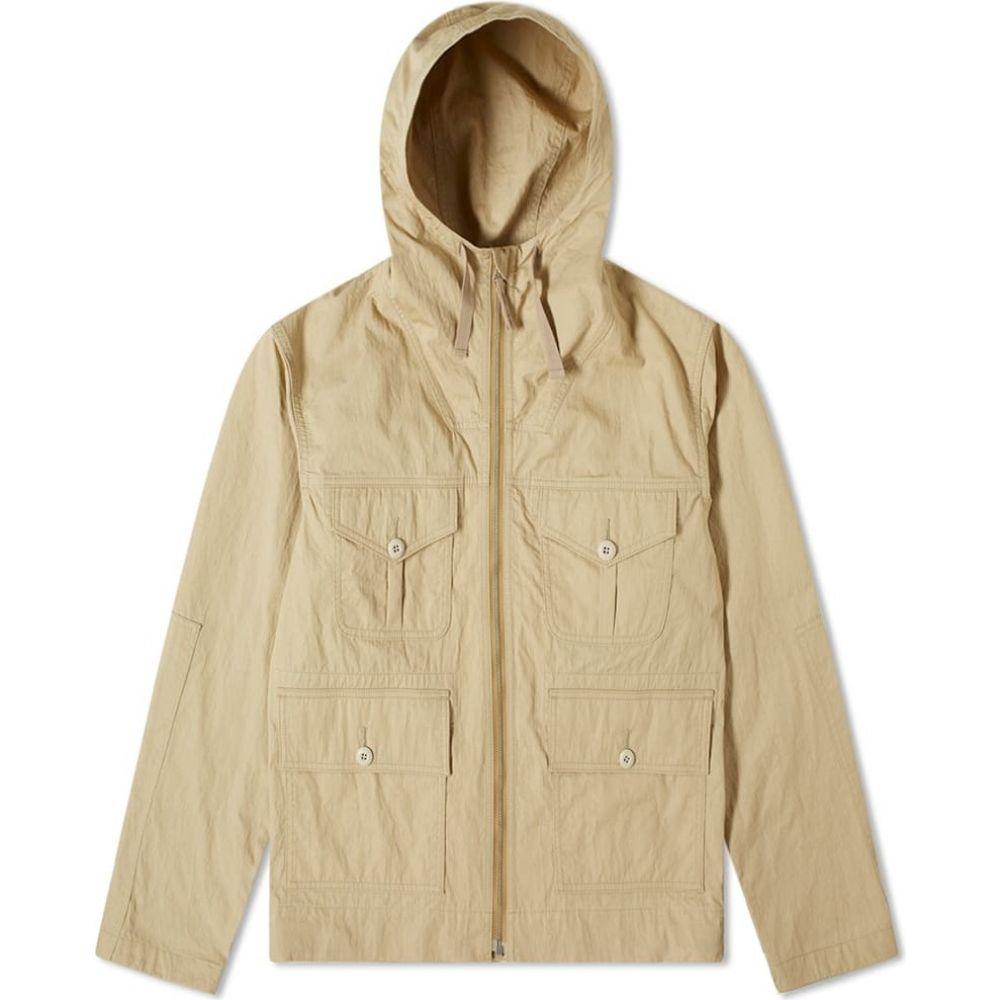 ジュンヤ ワタナベ Junya Watanabe MAN メンズ コート アウター【Herringbone Parka Jacket】Beige