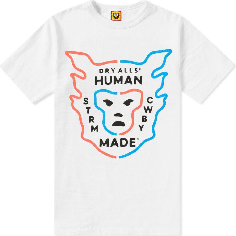ヒューマンメイド Human Made メンズ Tシャツ ロゴTシャツ トップス【Logo Tee】White