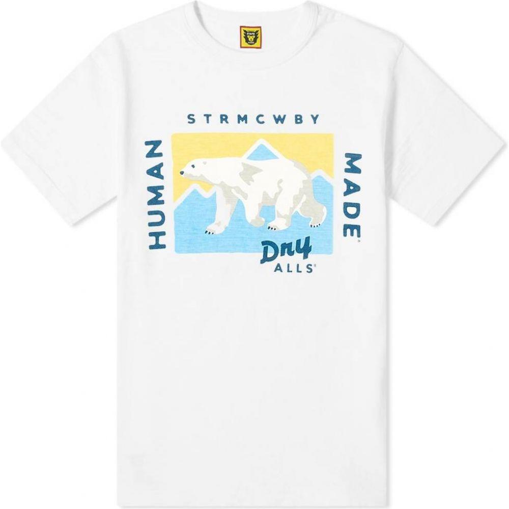 ヒューマンメイド Human Made メンズ Tシャツ トップス【Polar Bear Tee】White