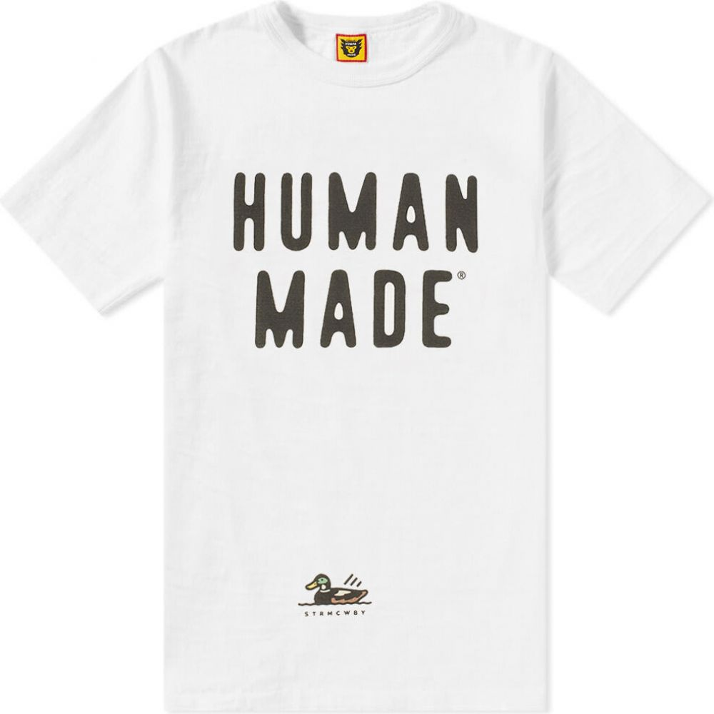 ヒューマンメイド Human Made メンズ Tシャツ ロゴTシャツ トップス【Duck Logo Tee】White
